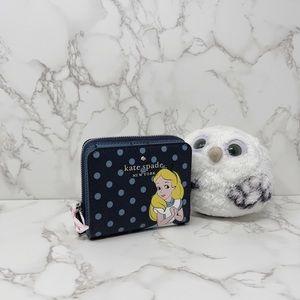 Kate Spade Disney Alice Bifold Wallet